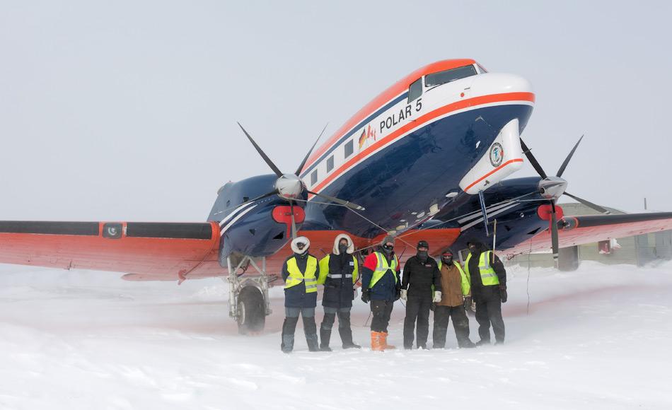 Die Polar 5 hat Wissenschaftler, Techniker und anderes Personal in den vergangenen 10 Jahren bei ihren Arbeiten in polaren Regionen im Norden und Süden unterstützt. Bild: Stefan Hendricks, AWI