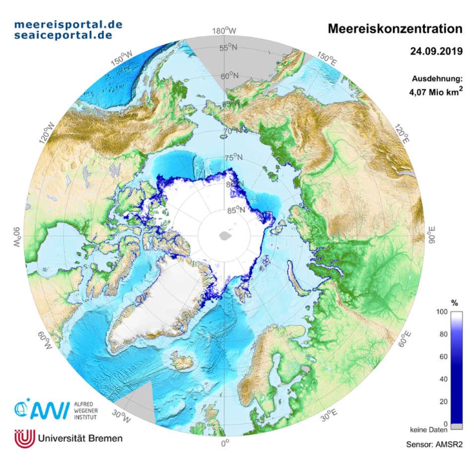 Grafik: Meereisportal/ Alfred-Wegener-Institut